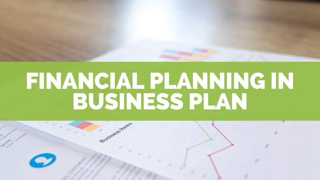 Finance plan example